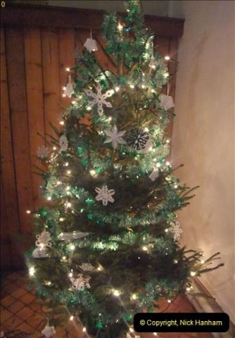 2012-12-21 (5) St.  Aldhelm's Church  Xmas Trees Display,  Branksome, Poole, Dorset.