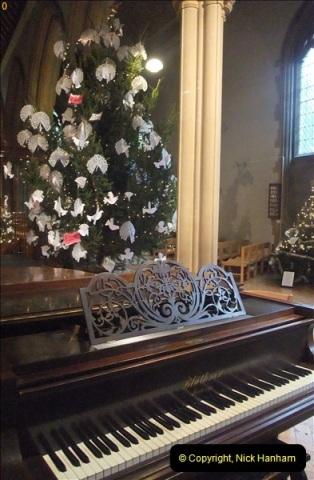 2012-12-21 (10) St.  Aldhelm's Church  Xmas Trees Display,  Branksome, Poole, Dorset.