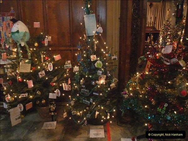 2012-12-21 (16) St.  Aldhelm's Church  Xmas Trees Display,  Branksome, Poole, Dorset.