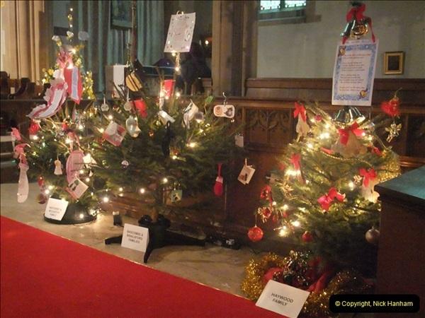 2012-12-21 (19) St.  Aldhelm's Church  Xmas Trees Display,  Branksome, Poole, Dorset.
