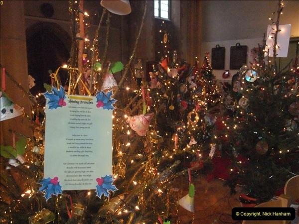 2012-12-21 (33) St.  Aldhelm's Church  Xmas Trees Display,  Branksome, Poole, Dorset.