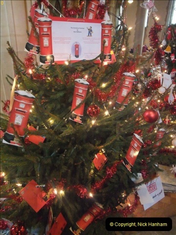 2012-12-21 (34) St.  Aldhelm's Church  Xmas Trees Display,  Branksome, Poole, Dorset.