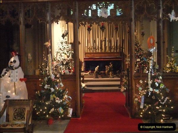2012-12-21 (44) St.  Aldhelm's Church  Xmas Trees Display,  Branksome, Poole, Dorset.