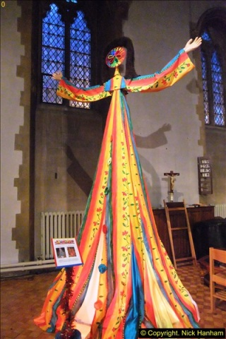 2013-12-19 St. Aldhelm's Church, Christmas Trees, Branksome, Poole, Dorset.  (3)