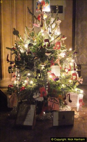 2013-12-19 St. Aldhelm's Church, Christmas Trees, Branksome, Poole, Dorset.  (9)