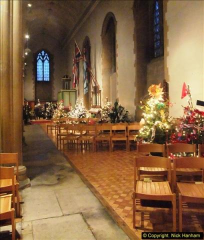 2013-12-19 St. Aldhelm's Church, Christmas Trees, Branksome, Poole, Dorset.  (16)