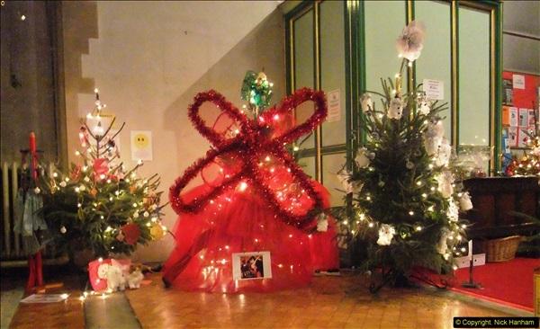 2013-12-19 St. Aldhelm's Church, Christmas Trees, Branksome, Poole, Dorset.  (19)
