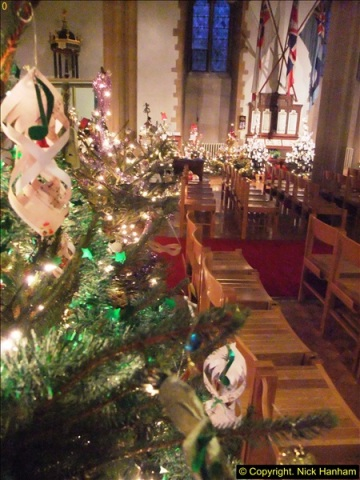 2013-12-19 St. Aldhelm's Church, Christmas Trees, Branksome, Poole, Dorset.  (20)