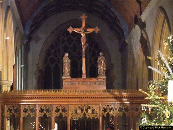2013-12-19 St. Aldhelm's Church, Christmas Trees, Branksome, Poole, Dorset.  (27)