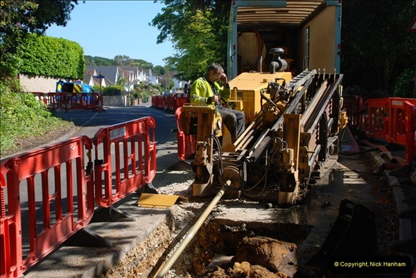 2012-06-18 Water Main cut by Gas people.  (27)095