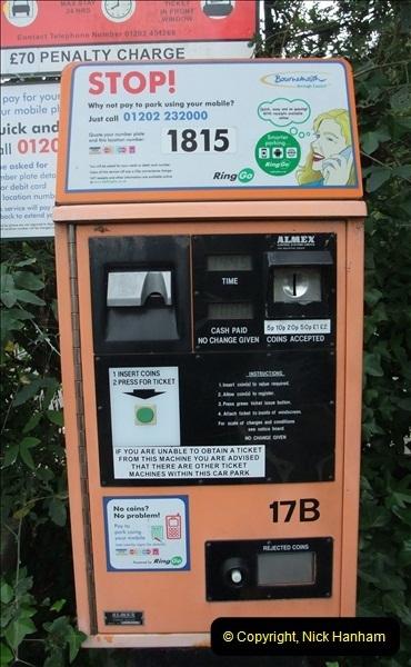 2012-10-10 Parking Ticket Machine. Bournemouth, Dorset.  (1)160