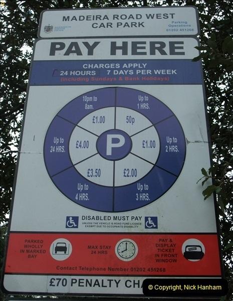 2012-10-10 Parking Ticket Machine. Bournemouth, Dorset.  (5)161