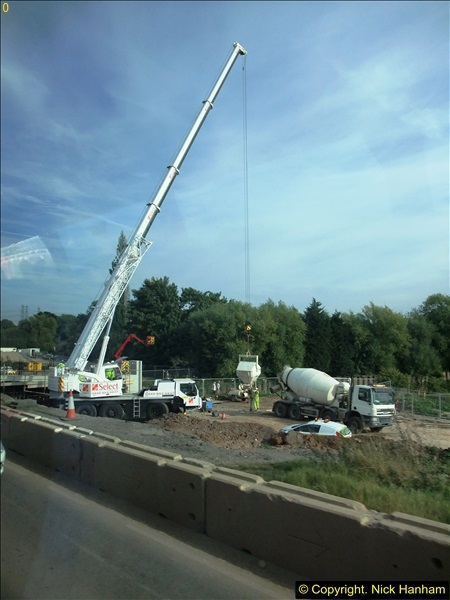 2013-09-27 Road works near Nottingham.  (5)202