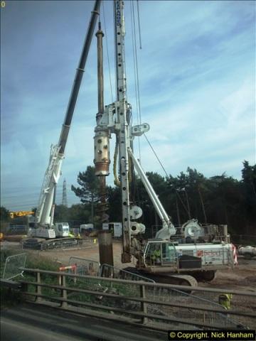 2013-09-27 Road works near Nottingham.  (8)205
