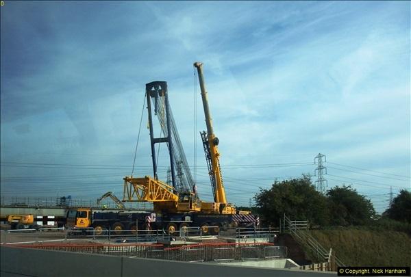 2013-09-27 Road works near Nottingham.  (9)206