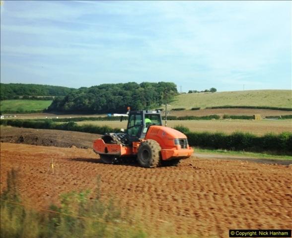 2013-09-27 Road works near Nottingham.  (10)207