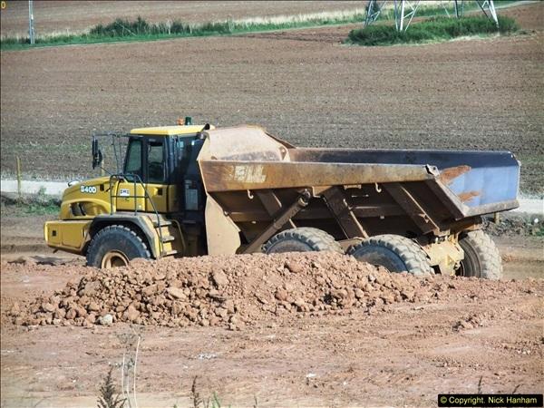 2013-09-27 Road works near Nottingham.  (17)214