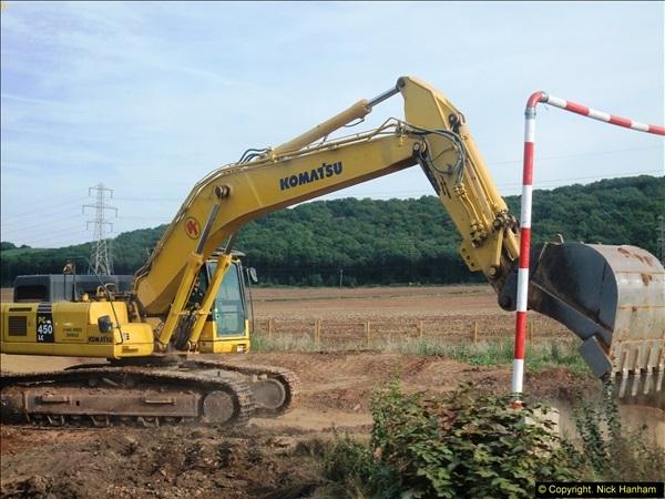 2013-09-27 Road works near Nottingham.  (22)219