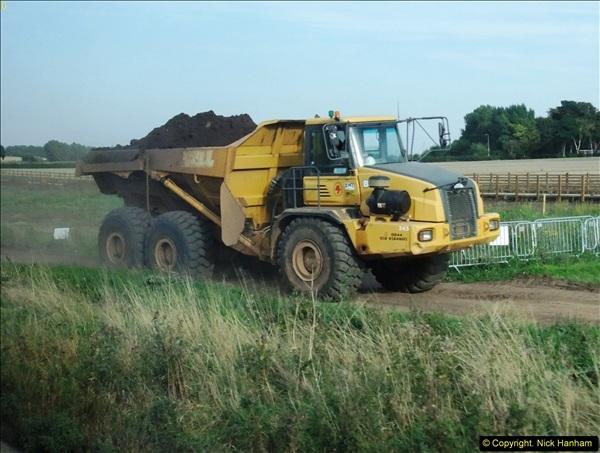 2013-09-27 Road works near Nottingham.  (25)222
