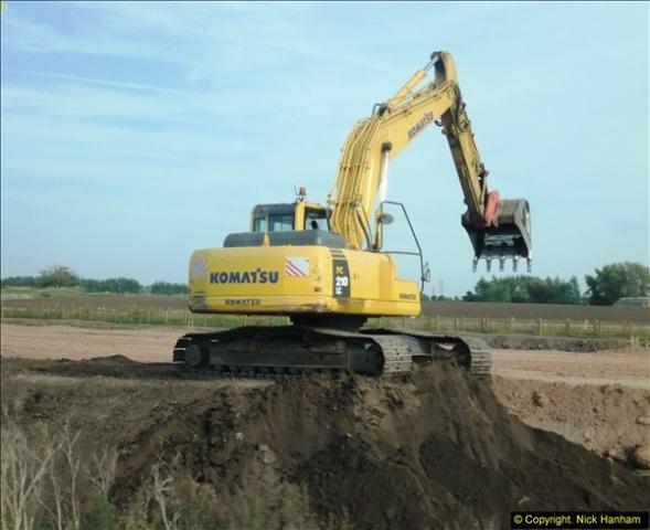 2013-09-27 Road works near Nottingham.  (26)223