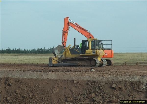 2013-09-27 Road works near Nottingham.  (28)225