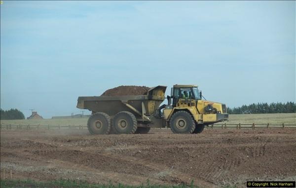 2013-09-27 Road works near Nottingham.  (30)227