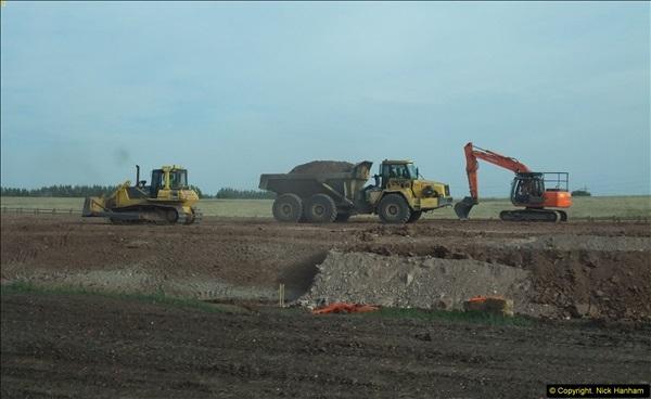 2013-09-27 Road works near Nottingham.  (31)228
