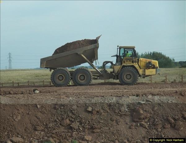 2013-09-27 Road works near Nottingham.  (32)229