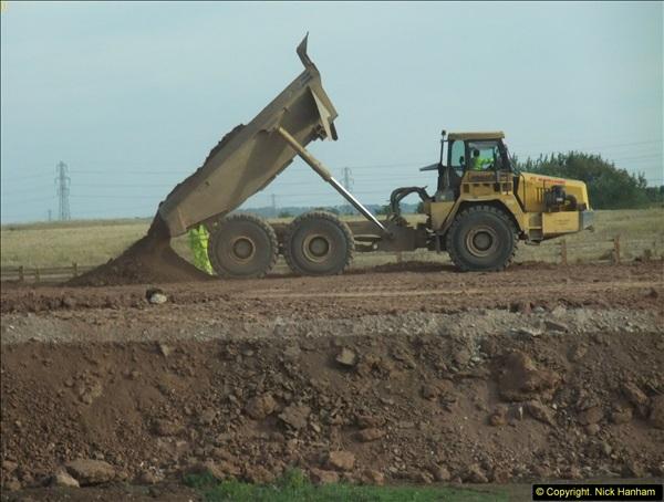 2013-09-27 Road works near Nottingham.  (34)231