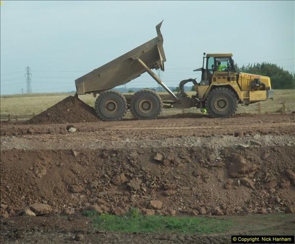 2013-09-27 Road works near Nottingham.  (35)232