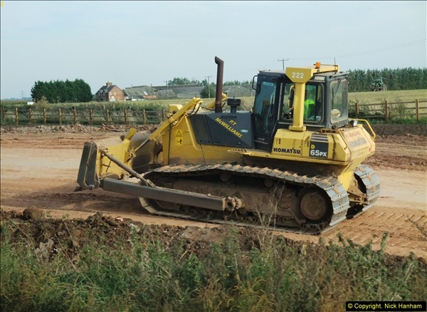 2013-09-27 Road works near Nottingham.  (36)233