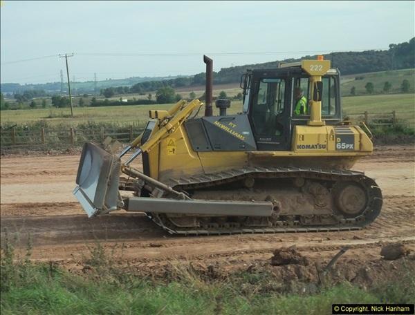 2013-09-27 Road works near Nottingham.  (37)234