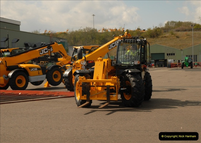 2012-04-16 JCB Visit. Rocester, Staffordshire.  (96)0096