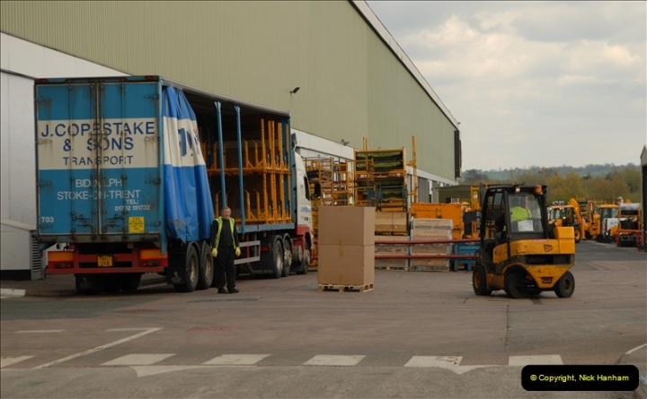 2012-04-16 JCB Visit. Rocester, Staffordshire.  (110)0110