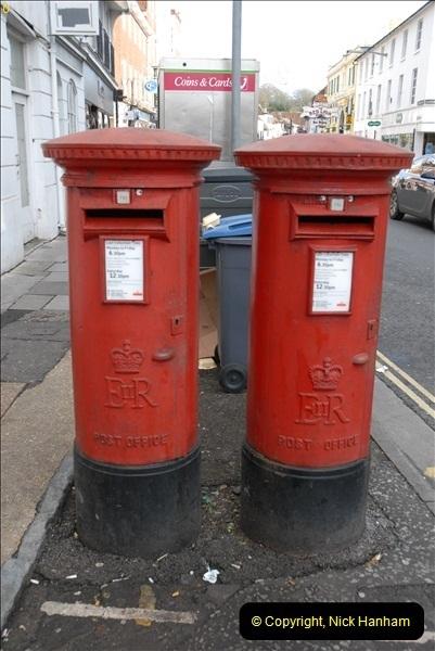 2012-11-23 Salisbury Pillar Boxes, Wiltshire.  (11)064