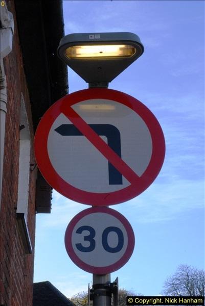 No Left Turn +Speed limit.64