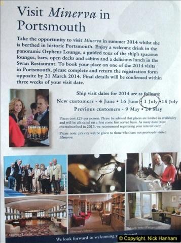 2014-07-01 Visit to MV Minerva @ Portsmouth, Hampshire.  (1)001