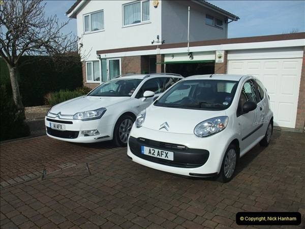2013-02-15 The Little & Large Citroen's C1 & C5 (2)093