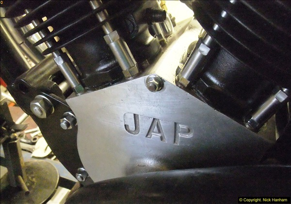 2014-01-29 Brough Motorcycle Restoration + Triumphs. (32)032