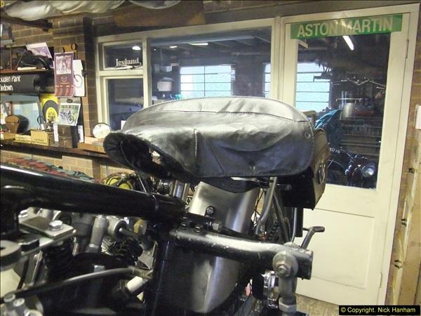 2014-01-29 Brough Motorcycle Restoration + Triumphs. (52)052