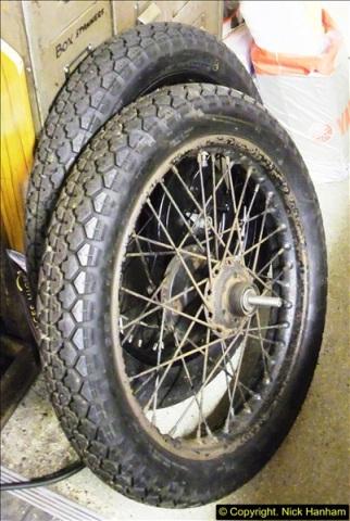 2014-01-29 Brough Motorcycle Restoration + Triumphs. (55)055
