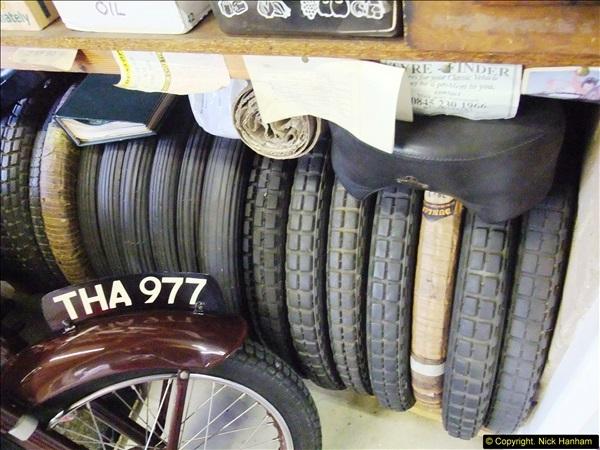 2014-01-29 Brough Motorcycle Restoration + Triumphs. (56)056