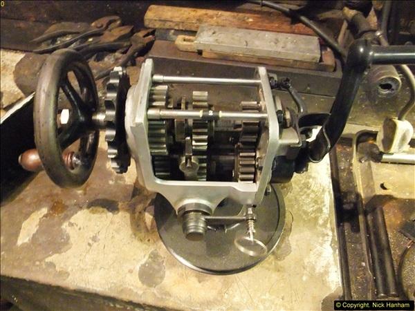 2014-01-29 Brough Motorcycle Restoration + Triumphs. (59)059