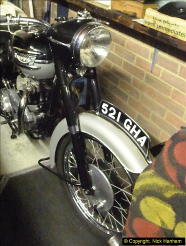 2014-01-29 Brough Motorcycle Restoration + Triumphs. (65)065