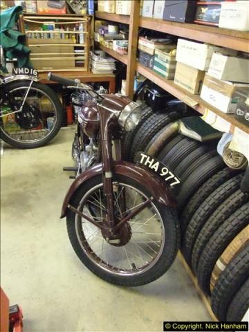 2014-01-29 Brough Motorcycle Restoration + Triumphs. (68)068