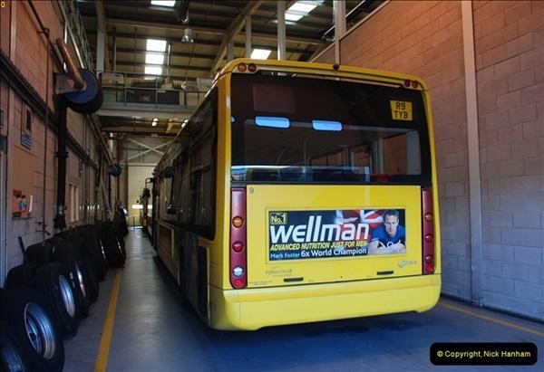 2012-08-26 Yellow Buses Yard Visit.  (56)056