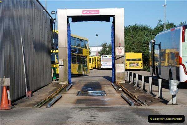 2012-08-26 Yellow Buses Yard Visit.  (58)058