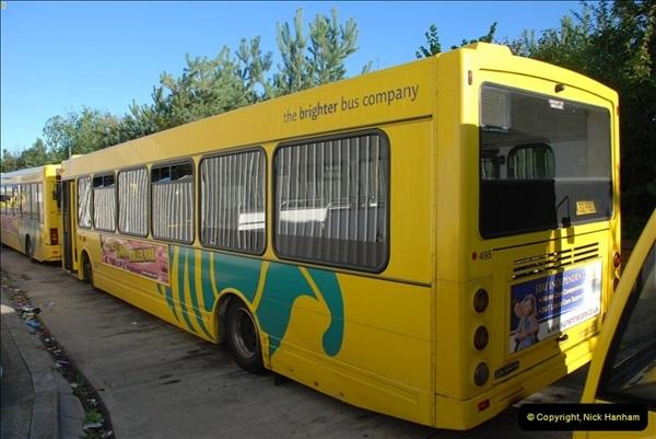 2012-08-26 Yellow Buses Yard Visit.  (76)076