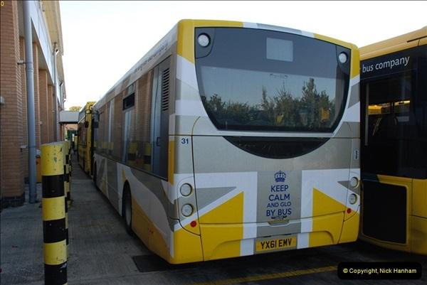 2012-08-26 Yellow Buses Yard Visit.  (92)092