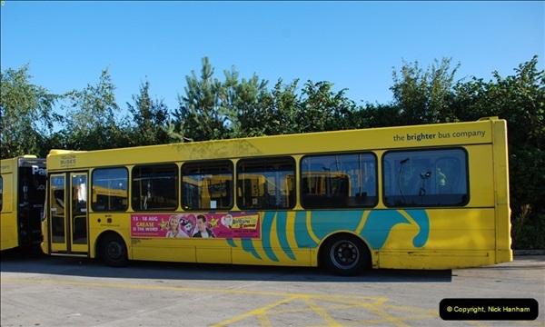 2012-08-26 Yellow Buses Yard Visit.  (101)101